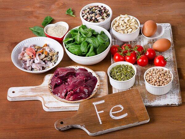 10 thực phẩm bổ máu tốt nhất