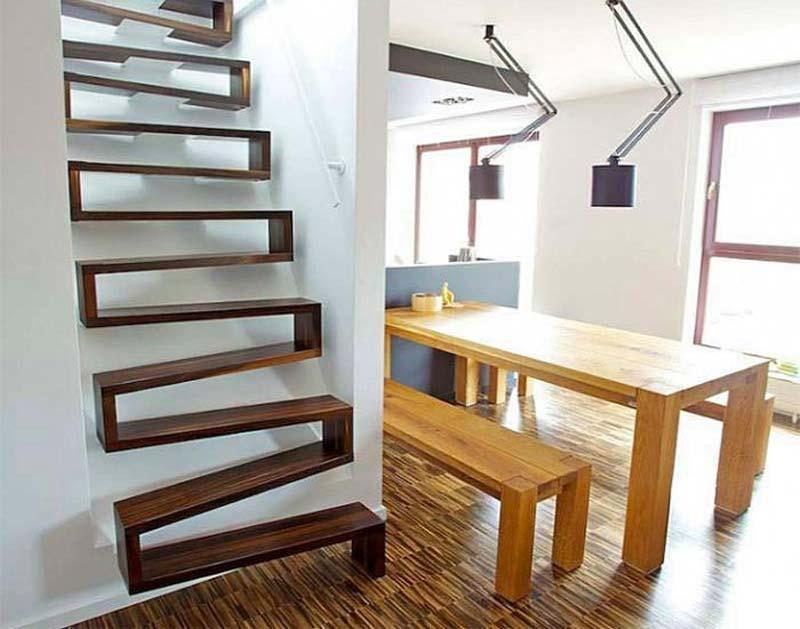 cầu thang cho nhà nhỏ
