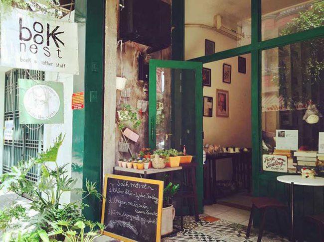 cafe sách theo kiểu Cổ Điển