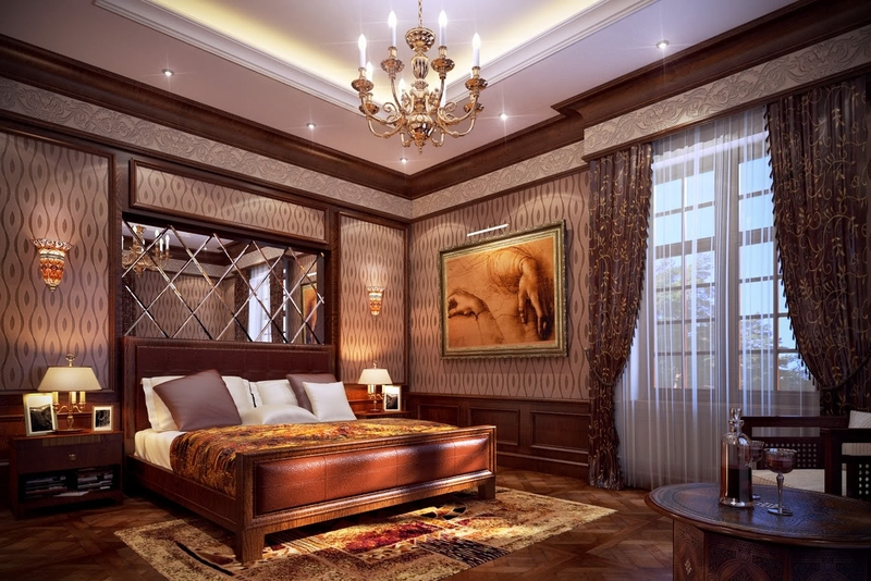 Phong cách tân cổ điển là một lựa chọn phù hợp nếu bạn muốn sở hữu một không gian phòng ngủ sang trọng.