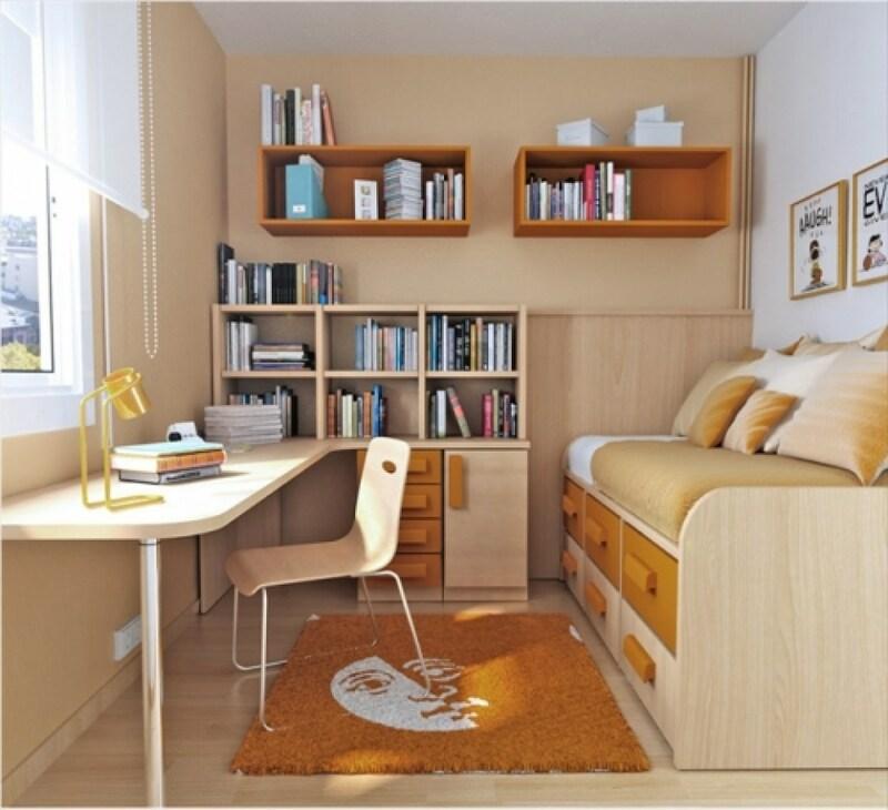 Phòng ngủ với diện tích từ 4m2 – 5m2