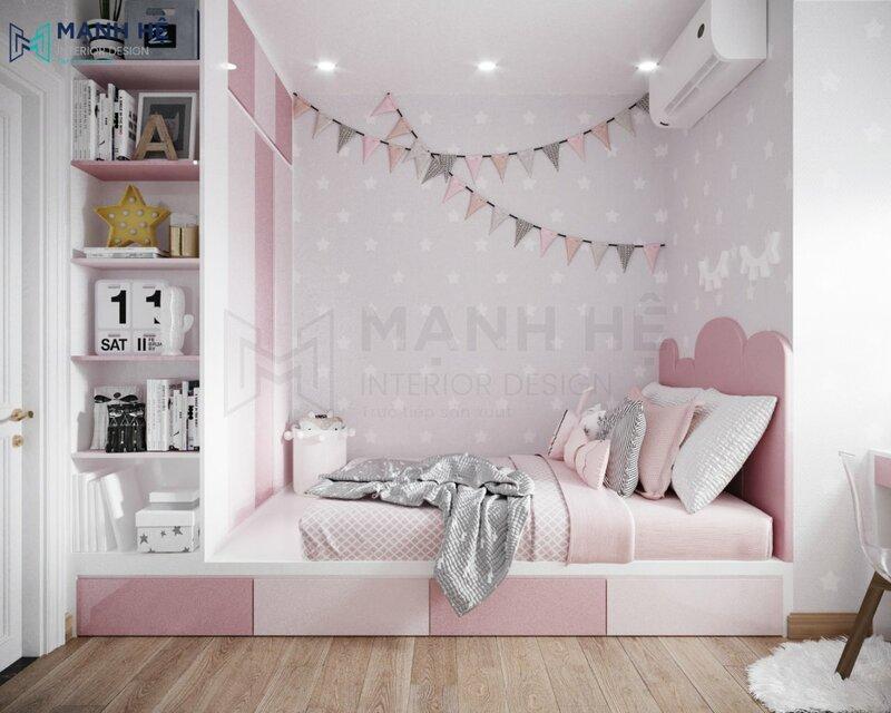 Phòng ngủ với diện tích từ 6m2 – 7m2
