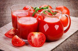 Dùng nước ép cà chua để giảm cân