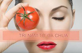 Tổng hợp những cách trị nám da bằng cà chua