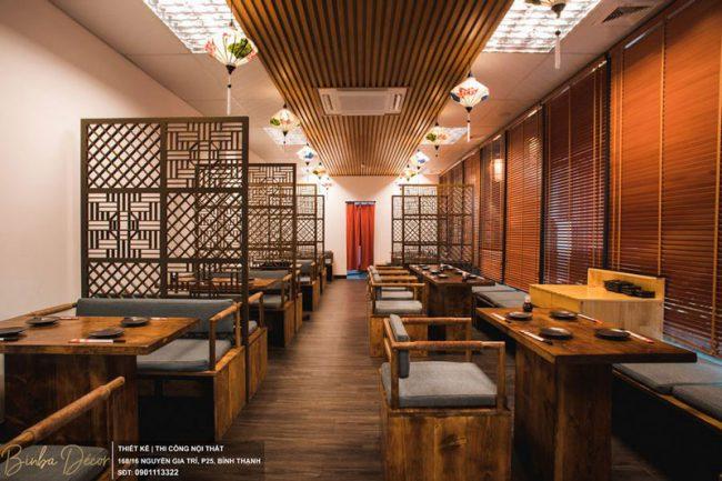Hãy xem xét lựa chọn màu sắc cho nhà hàng phù hợp với các mặt hàng kinh doanh chủ đạo của nhà hàng và mệnh ngũ hành của chủ nhà hàng.